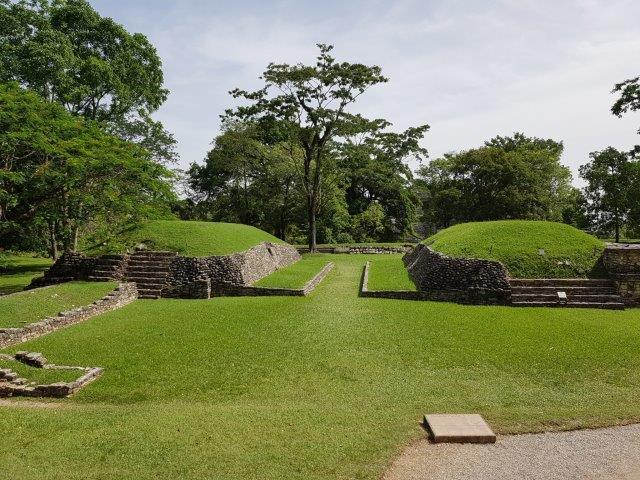 Ballcourt area, Palenque Ruins